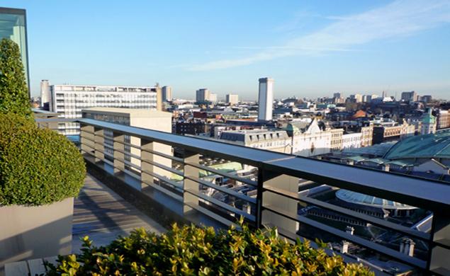 London Garden Design - Roof Gardens by Mathew Bell